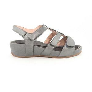 Abeo Gia Sandals Sand PewterWomen's Size 7 ()6363